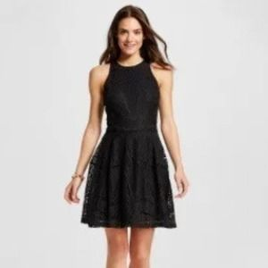 MOSSIMO Lace Fit & Flare Dress XS NEW